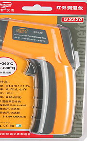GS320 Digital InfraRed Thermometer with Laser Sight (-50℃~360℃/-58℉~678℉)