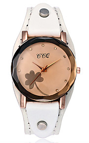Women's Casual Watch Fashion Watch Wrist watch Chinese Quartz Chronograph Genuine Leather Band Vintage Casual Elegant Cool Christmas