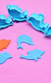 Pie Verktyg Nyhet Kaka Plastik Antimikrobial
