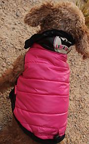 Kot Pies Płaszcze Bluzy z kapturem Kombinezon Ubrania dla psów Codzienne Wodoszczelność Zatrzymujący ciepło Sportowe Nadruk Tiary i korony