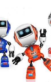 RC Robot Leren & Onderwijs 2.4G Legering Met Speaker Music Vrijetijdsschoenen Glans Mini Geluid Uitgang Neen