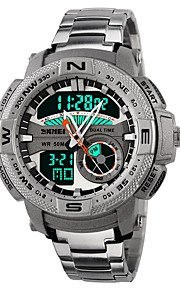 Homens Crianças Relógio Casual Relógio Esportivo Relógio de Moda Japanês Digital Calendário Cronógrafo Impermeável Cronômetro Noctilucente