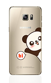 מגן עבור Samsung Galaxy S8 Plus S8 תבנית כיסוי אחורי פנדה רך TPU ל S8 Plus S8 S7 edge S7 S6 edge plus S6 edge S6
