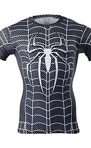 Spider-Man Mężczyzna Boże Narodzenie Festiwal/Święto Kostiumy na Halloween Black Jendolity kolor