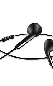 usams sj140 ligne contrôle musique téléphone portable casque écouteurs plats la réduction du bruit