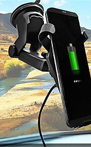 شاحن سيارة / شاحن لاسلكي شاحن يو اس بي USB Qi مخرجUSB 1 1 A DC 5V iPhone 8 Plus / iPhone 8 / S8 Plus