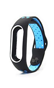 Horlogeband voor MiBand Xiaomi Polsband Sportband Silicone