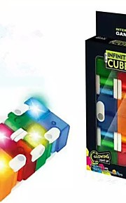 Oneindige kubus Speeltjes Rechthoekig Klassiek Thema LED-indicator Stress en angst Relief Kantoor Bureau Speelgoed Relieves ADD, ADHD,