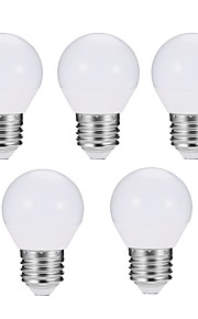 5pcs 5W E27 LED-globepærer G45 10 leds SMD 5730 Mulighet for demping LED Lys Dekorativ Varm hvit Kjølig hvit 560lm 3000/6500K AC 180-240V