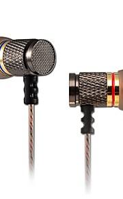 kz ed2 écouteur d'oreille trois équilibre de fréquence métal double unité de son magnétique