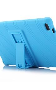 Wellenmuster Muster Silikon-Gummi-Gel Haut Fall Abdeckung mit Halter für Lenovo Tab 4 8 (tb-8504) 8.0 Zoll Tablet PC