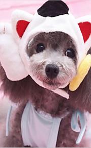 Kot Pies Bandany i kalepusiki Ubrania dla psów Zwierzęta Sylwester Patchwork Kostium Dla zwierząt domowych