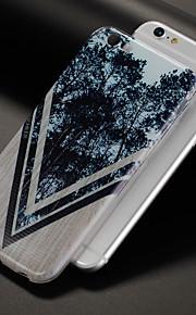 Etui Til Apple iPhone X iPhone 8 Mønster Bagcover Imiteret træ Træ Blødt TPU for iPhone X iPhone 8 Plus iPhone 8 iPhone 7 Plus iPhone 7