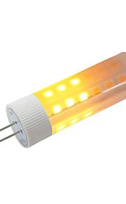 1шт 3W 230 LED лампы типа Корн 36 светодиоды SMD 2835 Эффект пламени Тёплый белый 3000-3500K DC 12V
