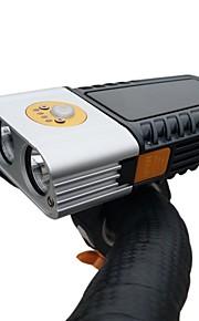 Bicycle HeadlightSuper Bright Waterproof Bike Front LightUSB 1000 Lumens Road Bike Headlamp Easy To Install LED Flashlight for Cycling CommutingRiding