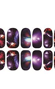 1 Naklejka paznokci Kalkomanie do paznokci Nail Art Design