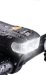 Światła rowerowe Inteligentne światła LED Kolarstwo Wodoodporne 600 Lumenów Biały Obóz/wycieczka/alpinizm jaskiniowy Kolarstwo