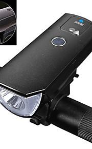 Światła rowerowe LED Kolarstwo Oświetlenie LED Wodoszczelny Wodoodporne Akumulator 350 Lumenów USB Biały Obóz/wycieczka/alpinizm