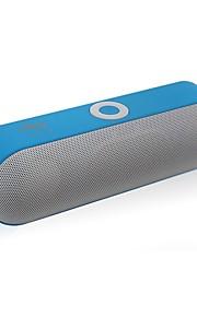 LX-NBY-18 Utomhus Bluetooth högtalare Ministil Bluetooth V3.0 Audio (3.5 mm) 1 x USB TF-Kortplats Bokhyllehögtalare Svart Grå Röd Blå