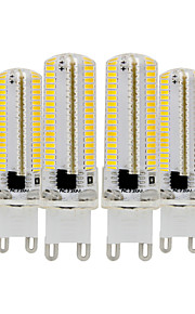 YWXLIGHT® 6pcs 7W 600-700 lm G9 LED Bi-pin Lights T 152 leds SMD 3014 Dimmable Warm White Cold White 110-130V 220-240V