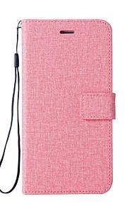 Custodia Per HTC U11 Porta-carte di credito A portafoglio Con supporto Con chiusura magnetica Integrale Tinta unica Resistente pelle