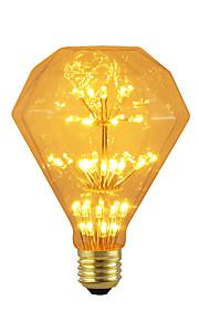 BRELONG® 1pc 3W 300 lm E26/E27 LED-globepærer 47 leds SMD Stjernefull Dekorativ Gul 220V-240V