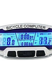 SD-558A Bike Computer / Bicycle Computer Stopwatch Backlight LCD Display Speedometer Wired Odometer Outdoor Cycling