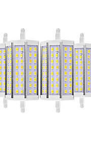 YWXLIGHT® 6pcs 8W 700-800 lm R7S LED Corn Lights 48 leds SMD 5730 Warm White Cold White 110-130V 220-240V