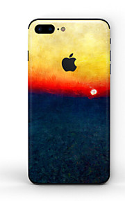 1 pc Skin Sticker for Scratch Proof Scenery Pattern PVC iPhone 8 Plus