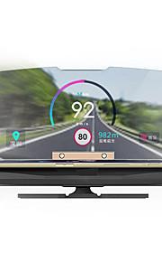 Head Up Display GPS per Auto Visualizza KM / h MPH
