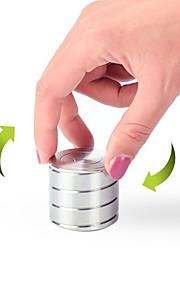 Magnetiske leker 1pcs Vortecon Kinetic Desk Toy metallic Office Desk Leker Stress og angst relief Sylinder-formet Leketøy Voksne Gave