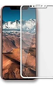 Skærmbeskytter Apple for iPhone X Hærdet Glas 1 stk Helkrops- og skærmbeskyttelse Ridsnings-Sikker Eksplosionssikker 2.5D bøjet kant 9H
