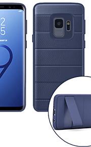 ケース 用途 Samsung Galaxy S9 S9 Plus 耐衝撃 スタンド付き バックカバー ソリッド ハード PC のために S9 Plus S9 S8 Plus S8