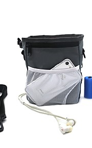 Pets Shoulder Bag Pet Carrier Trainer Camping & Hiking Portable Soft Casual Solid Colored Fashion Black Gray