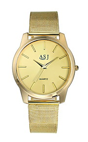 Women's Wrist Watch Casual Watch Alloy Band Analog Luxury Fashion Gold - Golden One Year Battery Life / SSUO SR626SW