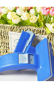 Dogs / Cats Cleaning Comb Durable / washable Blue
