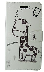 Case For Samsung Galaxy S7 Card Holder / Wallet / with Stand Full Body Cases Cartoon / Animal Hard PU Leather for S7 / S6 edge / S6