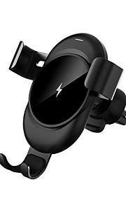 cl-28 clamped منفذ الهواء الشحن اللاسلكي قوس ل فون xs فون xr xsmax فون 8 سامسونج s9 زائد s8 ملاحظة 9 أو مدمج تشي استقبال الهاتف الذكي