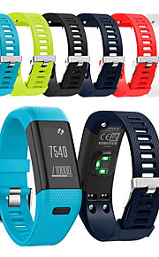 Watch Band for Vivosmart HR+(Plus) Garmin Sport Band Silicone Wrist Strap