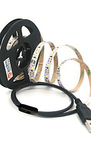 ZDM® 2m Strisce luminose LED flessibili 120 LED 2835 SMD Bianco caldo / Luce fredda Accorciabile / USB / Adatto per veicoli 5 V / Alimentazione USB 1pc