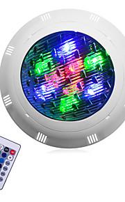 1pc 9 W / 12 W Onderwaterlampen Waterbestendig RGB 12 V / 24 V Buitenverlichting / Zwembad 9/12 LED-kralen