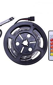 1m Set luci 30 LED SMD5050 1 telecomando da 24Keys Colori primari Impermeabile / Accorciabile / USB 5 V 1 set