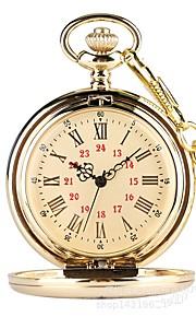 Ανδρικά Ρολόι Τσέπης Χαλαζίας Χρυσό Καθημερινό Ρολόι Αναλογικό Βίντατζ  Καθημερινό - Χρυσό 0c51abe9a8f