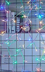 50m Φώτα σε Κορδόνι 400 LEDs Ψυχρό Λευκό / Κόκκινο / Μπλε Αδιάβροχη / Δημιουργικό / Πάρτι 220-240 V / 110-120 V 1set