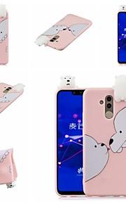 tok Για Huawei Huawei Honor 8X / Honor 9 Lite Με σχέδια Πίσω Κάλυμμα Ζώο / Κινούμενα σχέδια Μαλακή TPU για Huawei Honor 9 Lite / Huawei Honor 8X / Honor 7A