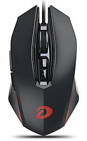 dareu em925pro ασύρματο οπτικό ποντίκι παιχνιδιών με οπίσθιο φωτισμό πολλαπλών χρωμάτων 600/1200/2400/3600/5400/7200/10800 dpi 7 ρυθμιζόμενα επίπεδα dpi 7 κουμπιά