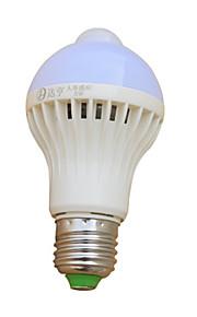 9 W LED Λάμπες Σφαίρα 510-610 lm E26 / E27 22 LED χάντρες Υπέρυθρος Αισθητήρας 220-240 V, 1pc