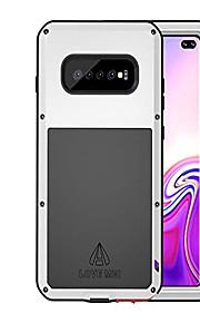 Кейс для Назначение SSamsung Galaxy Galaxy S10 Plus Водонепроницаемый / Защита от удара / Защита от пыли Чехол Однотонный Твердый ПК для Galaxy S10 Plus