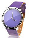 Relógio com Correia Púrpura