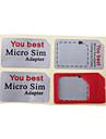 Micro SIM To Regular SIM  Adapter For iPhone 4